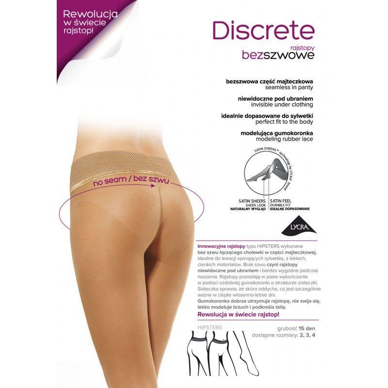 15 den DISCRETE hlačne nogavice
